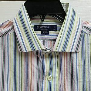 Cremieux Collection Men's Button Down Dress Shirt